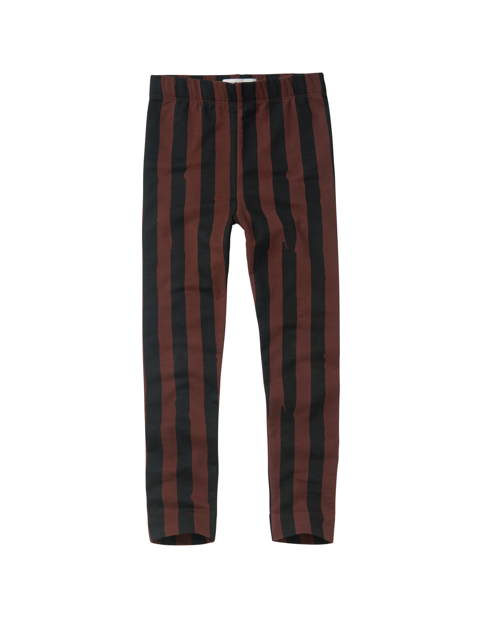 Sproet & Sprout Sproet & Sprout Pants Painted Stripe-Black/Chocolate
