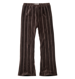 Sproet & Sprout Sproet & Sprout Pants Velvet Pleats-Chocola