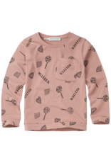 Sproet & Sprout Sproet & Sprout T Shirt Candy AOP-Mauve