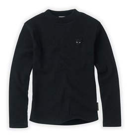 Sproet & Sprout Sproet & Sprout T-shirt Rib Black Basic