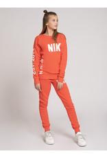 Nik&Nik NIK & NIK Polly Sweater Red Coral