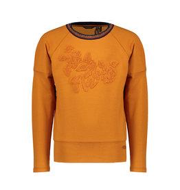 NONO NONO Kila Sweater With Fancy Sleeve Intense Gold