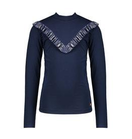 NONO NONO Kola Turtle Neck T-shirt Navy Blazer