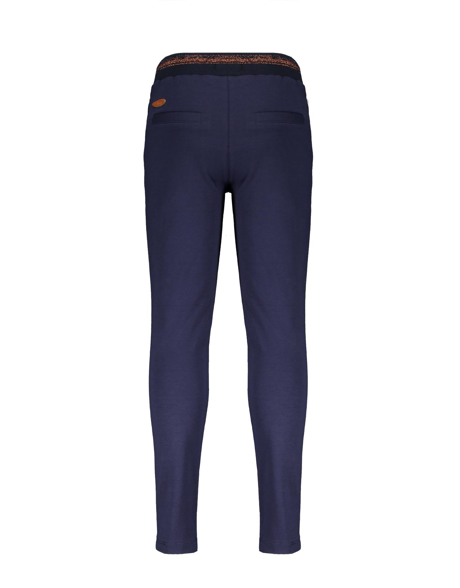 NONO NONO Secler Sweat Pants With Rib Waistband Navy Blazer