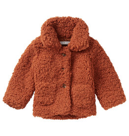 Noppies Noppies G Coat longsleeve Lulekani RUST