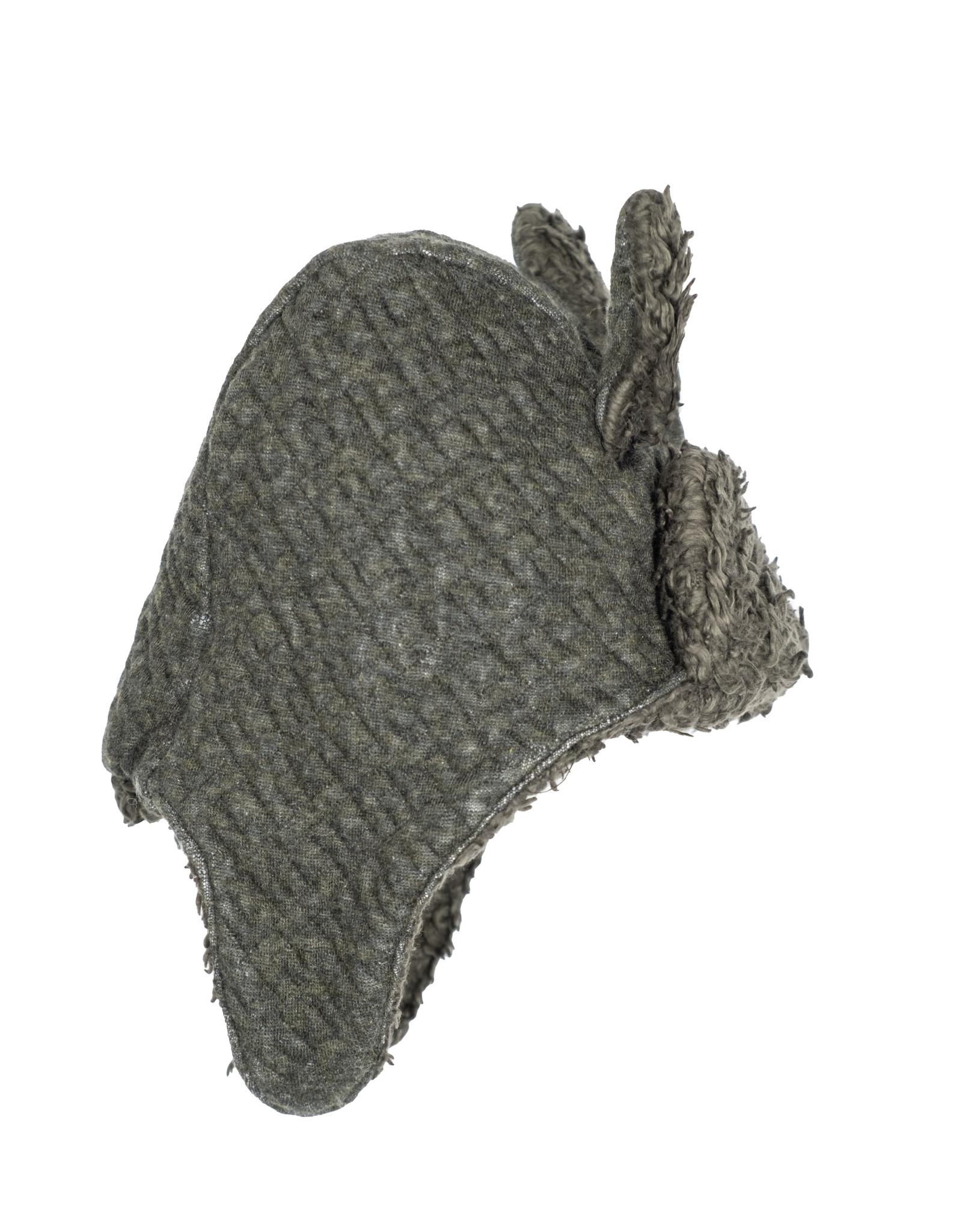 Riffle Amsterdam Riffle Amsterdam Winter Hat Quilt Grey