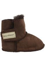 En Fant Sheepskin Boots Brown