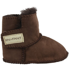 En Fant Sheepskin Boots Brown