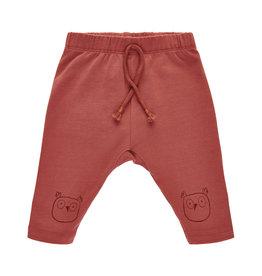 Pippi Pippi Harem Pants w.Knee Print Marsala