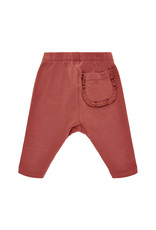 Creamie Pippi Harem Pants w.Knee Print Marsala
