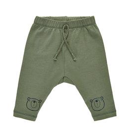 Pippi Pippi Harem Pants W. Knee Print Deep Lichen Green