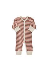 Pippi Pippi Jumpsuit - YD Stripe Marsala