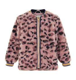 Creamie Creamie Jacket Leo Fur Deauville Mauve