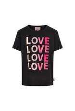 Creamie Creamie T-shirt LOVE SS Black