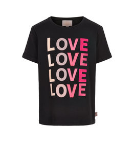 Creamie Creamie T-shirt LOVE SS Black