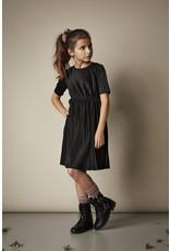 Creamie Creamie Dress Plisse Jersey Black