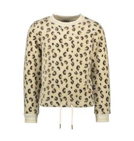 Like Flo Like Flo Girls Animal Knit Sweater