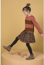 Like Flo Like Flo Girls Knitted Ajour Sweater Blush