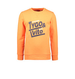 TYGO & Vito TYGO & Vito Sweater Shocking Orange