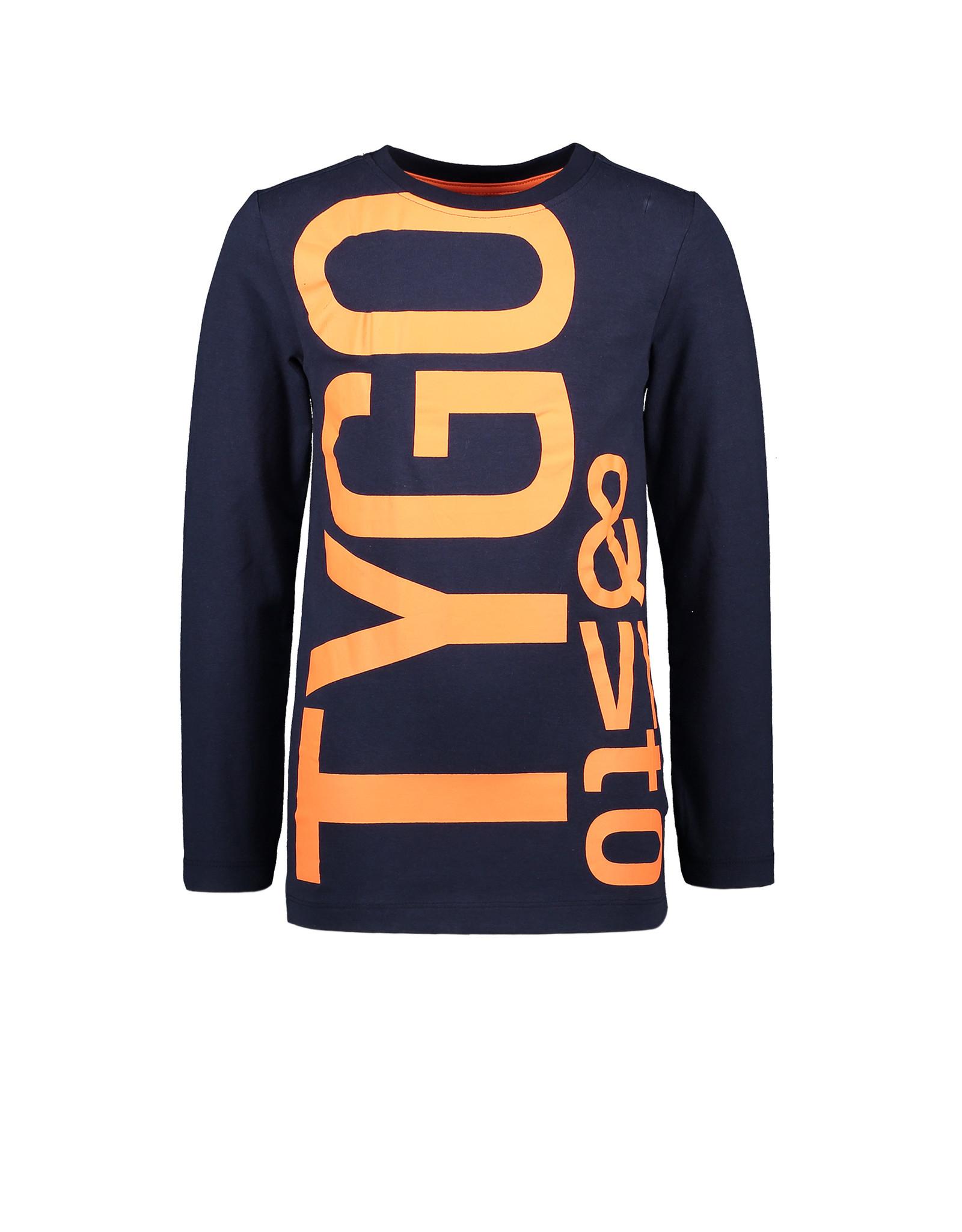 TYGO & Vito TYGO & Vito Longsleeve Navy