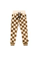 CarlijnQ CarlijnQ Checkers Sweatpants with cuffs
