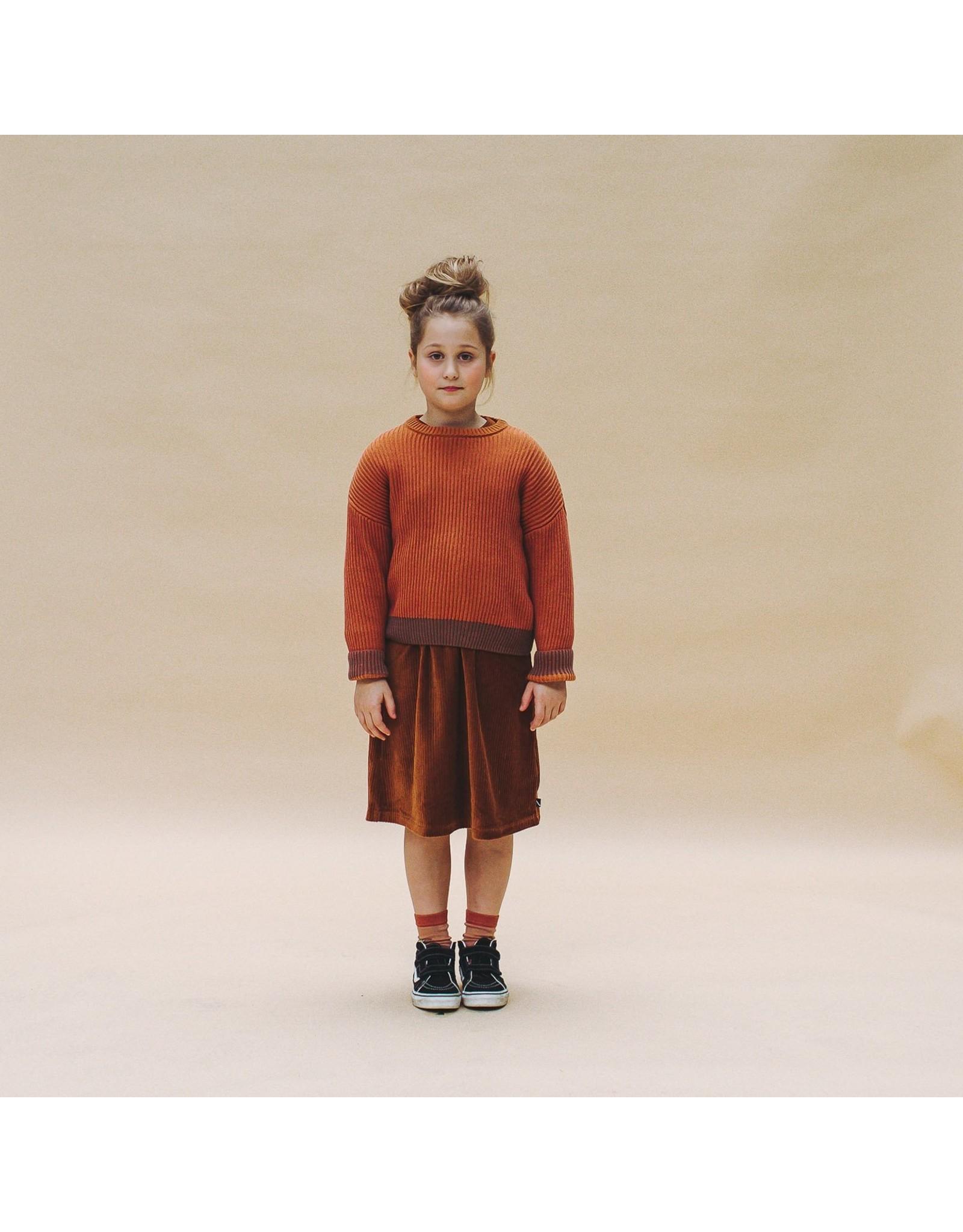 CarlijnQ CarlijnQ Basics Knit Sweater CINNAMON