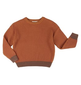 CarlijnQ CarlijnQ Basics Knit Sweater CINNAMON