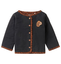 Noppies Noppies G Cardigan Dress LS Tzaneen AOP Rust