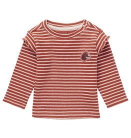 Noppies Noppies G Regular T-shirt LS Pongola Rust