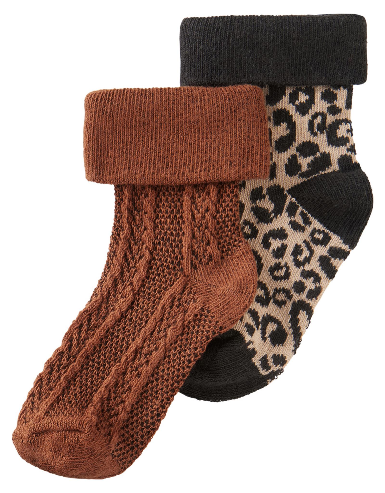 Noppies Noppies G Socks 2-pack Harding Rust