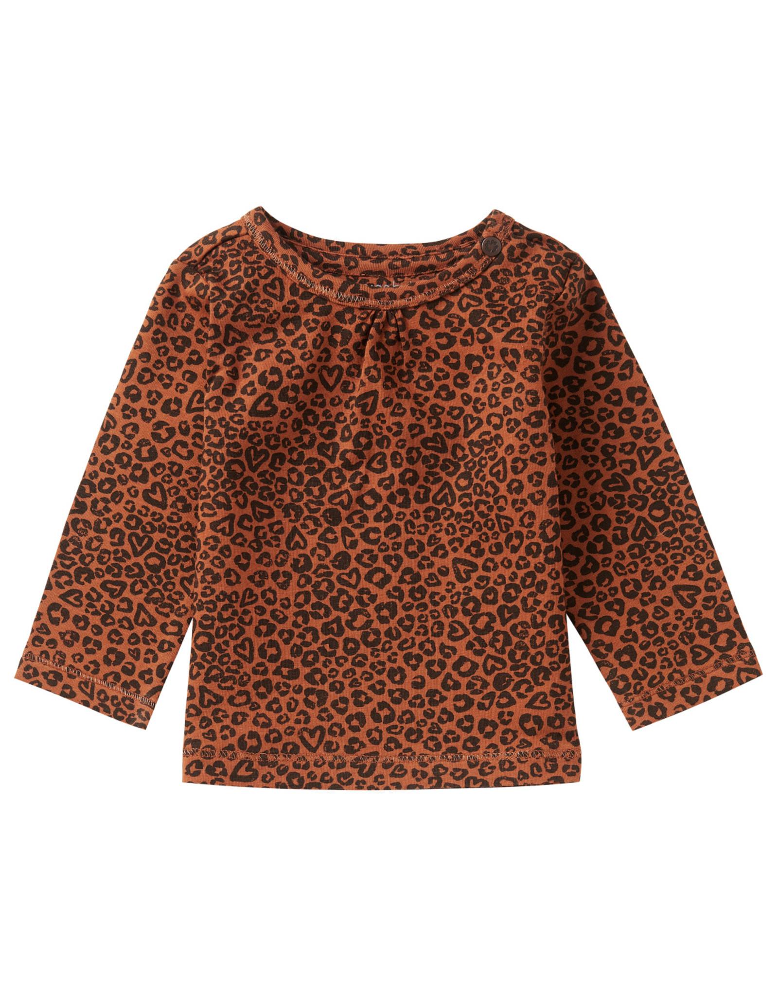 Noppies Noppies G Regular T-shirt LS Mkuze AOP Rust