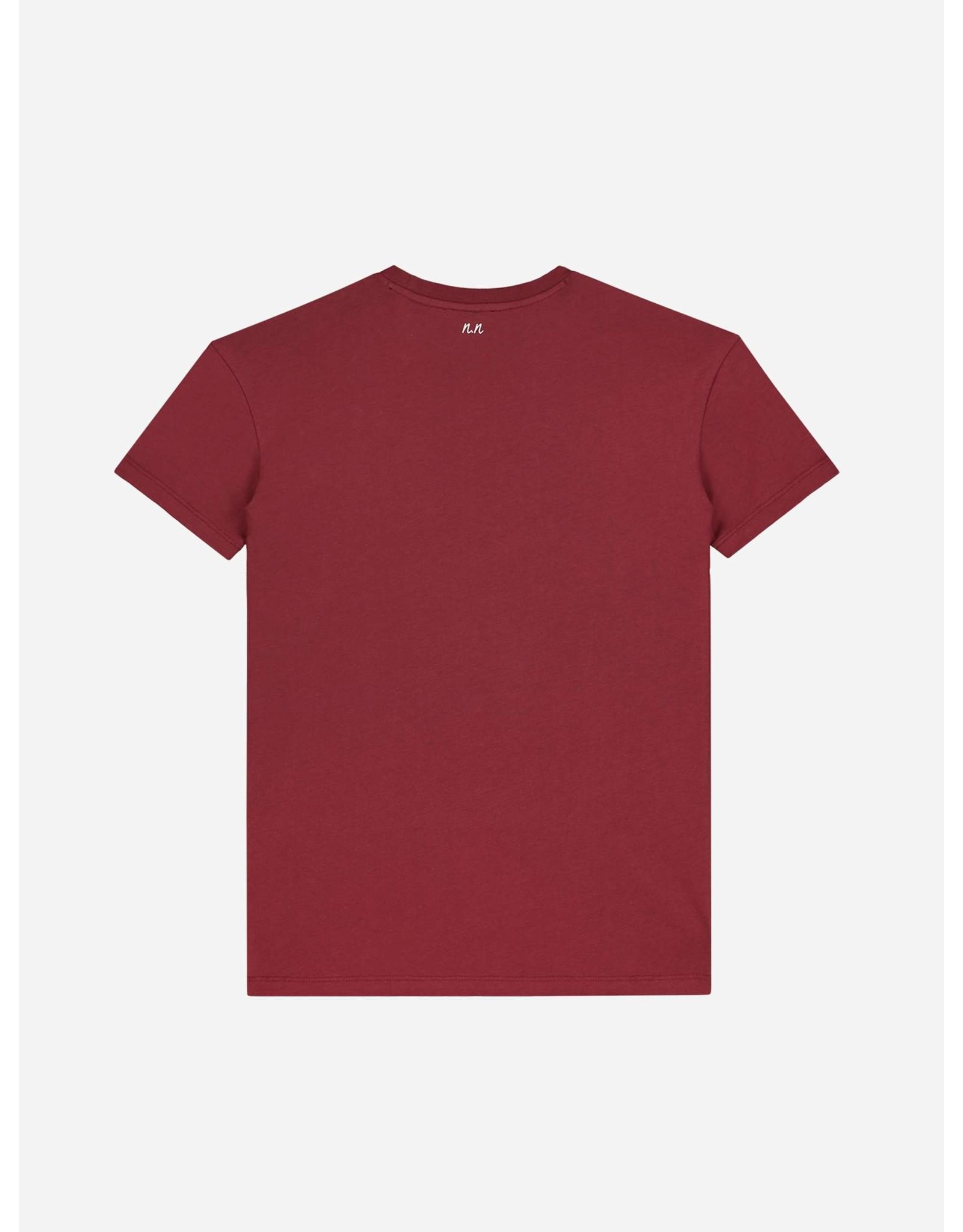 Nik&Nik NIK & NIK Lutz T-shirt Mid Red
