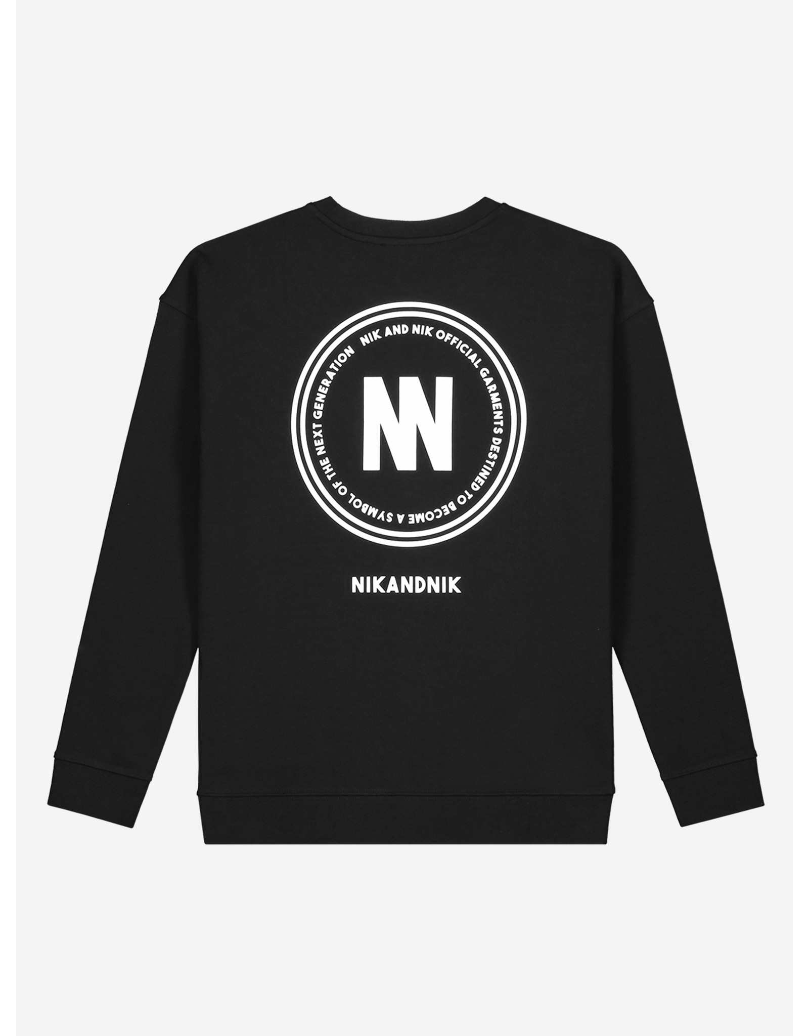 Nik&Nik NIK & NIK Mixo Sweater Black