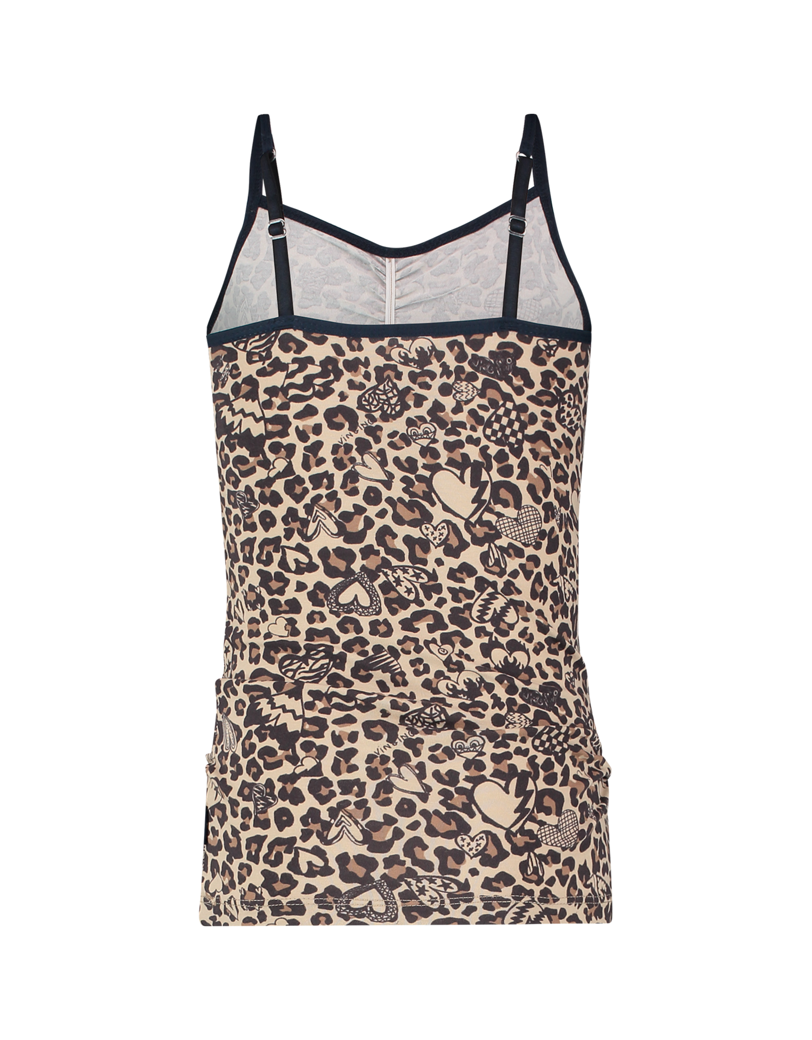 Vingino Vingino Leopard Love Singlet MULTICOLOR BROWN