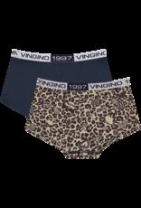 Vingino Vingino Leopard Love 2-Pack MULTICOLOR BROWN