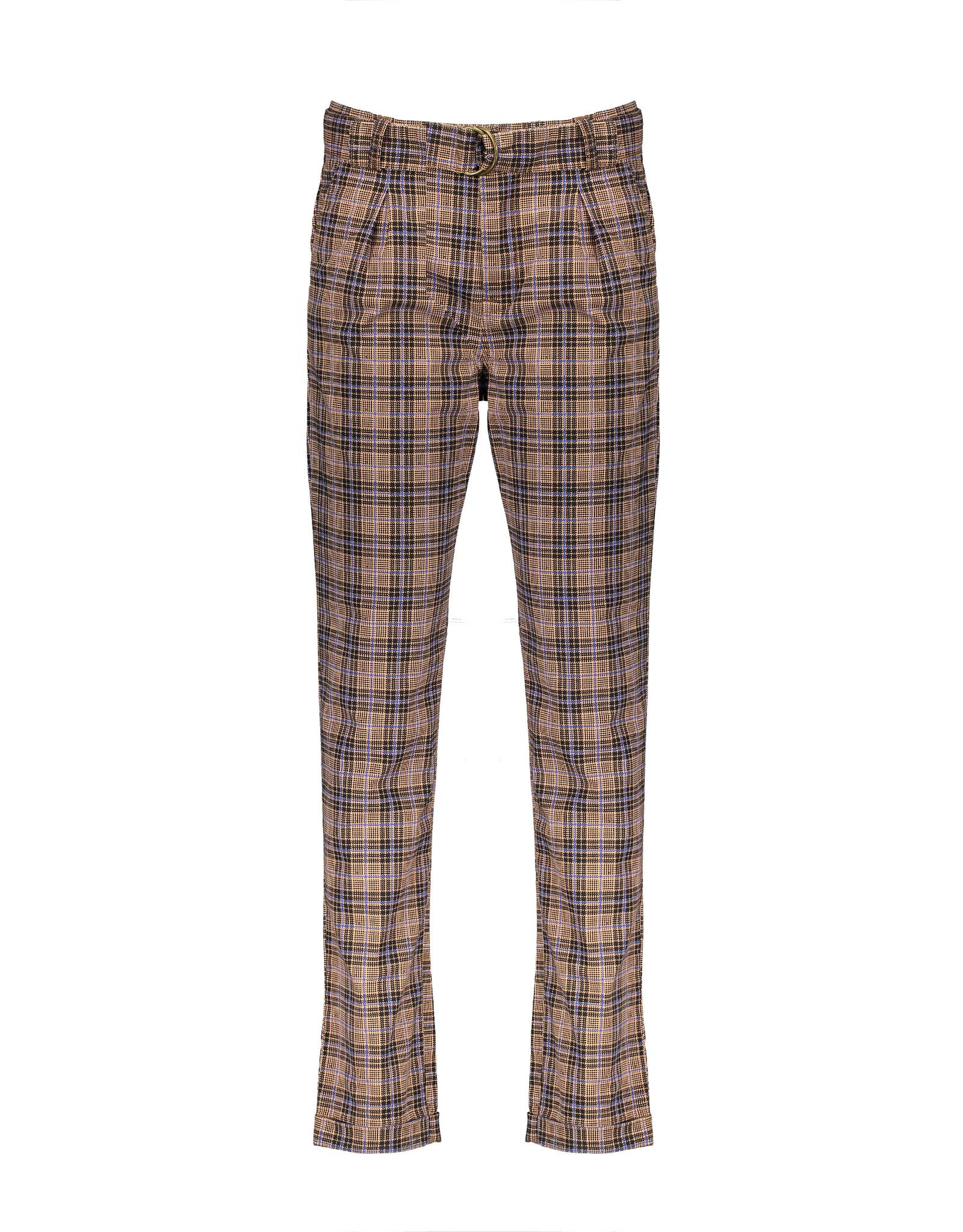 NoBell NoBell Sylver Printed Check Pants