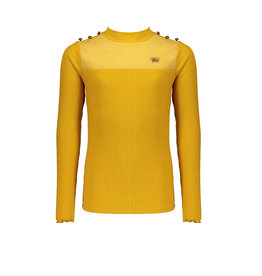 NoBell NoBell Kolet Rib turtle neck Tshirt YELLOW GOLD