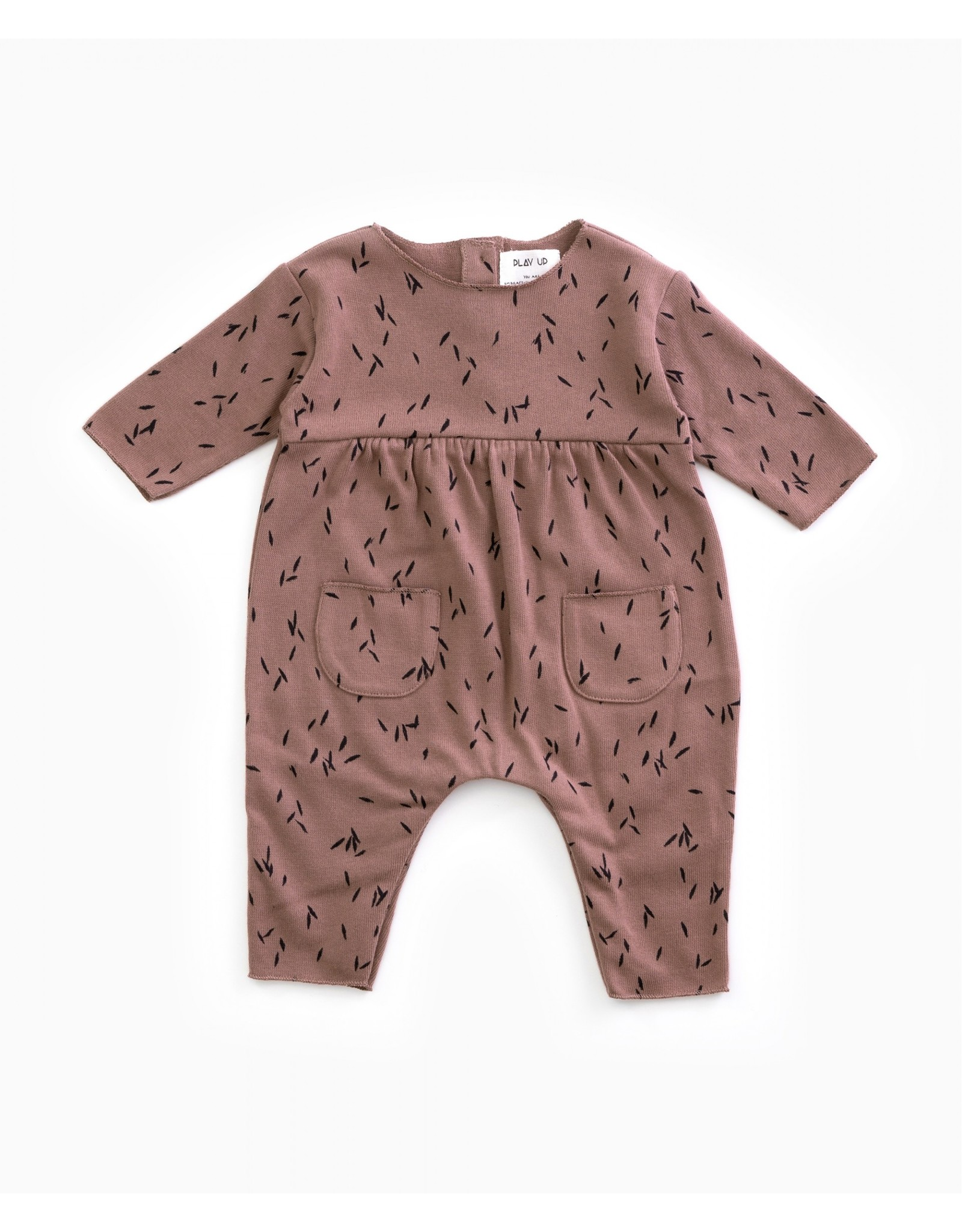 Play Up Play Up Jersey Jumpsuit Purplewood
