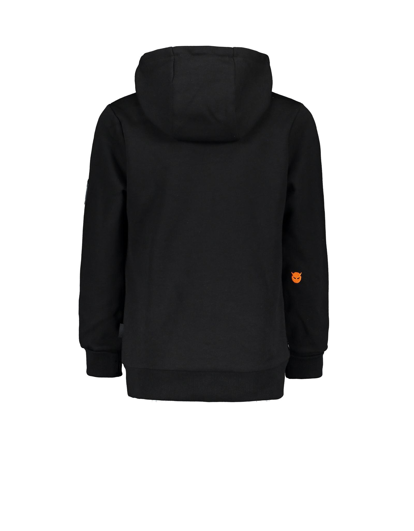 Super Rebel Super Rebel Hooded Sweater pri BLACK