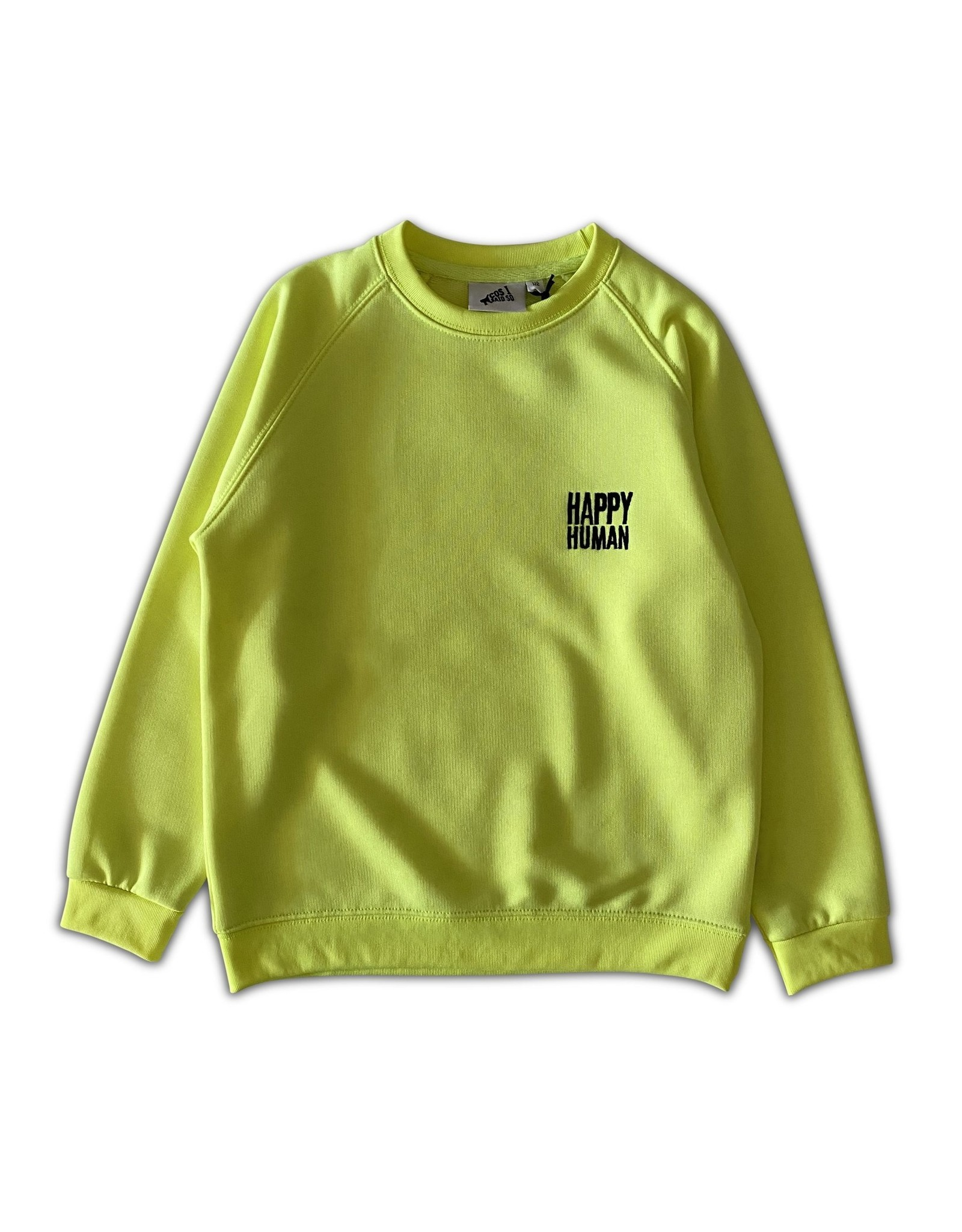 Cos I Sais So Cos I Said So Happy Human Sweater NEON
