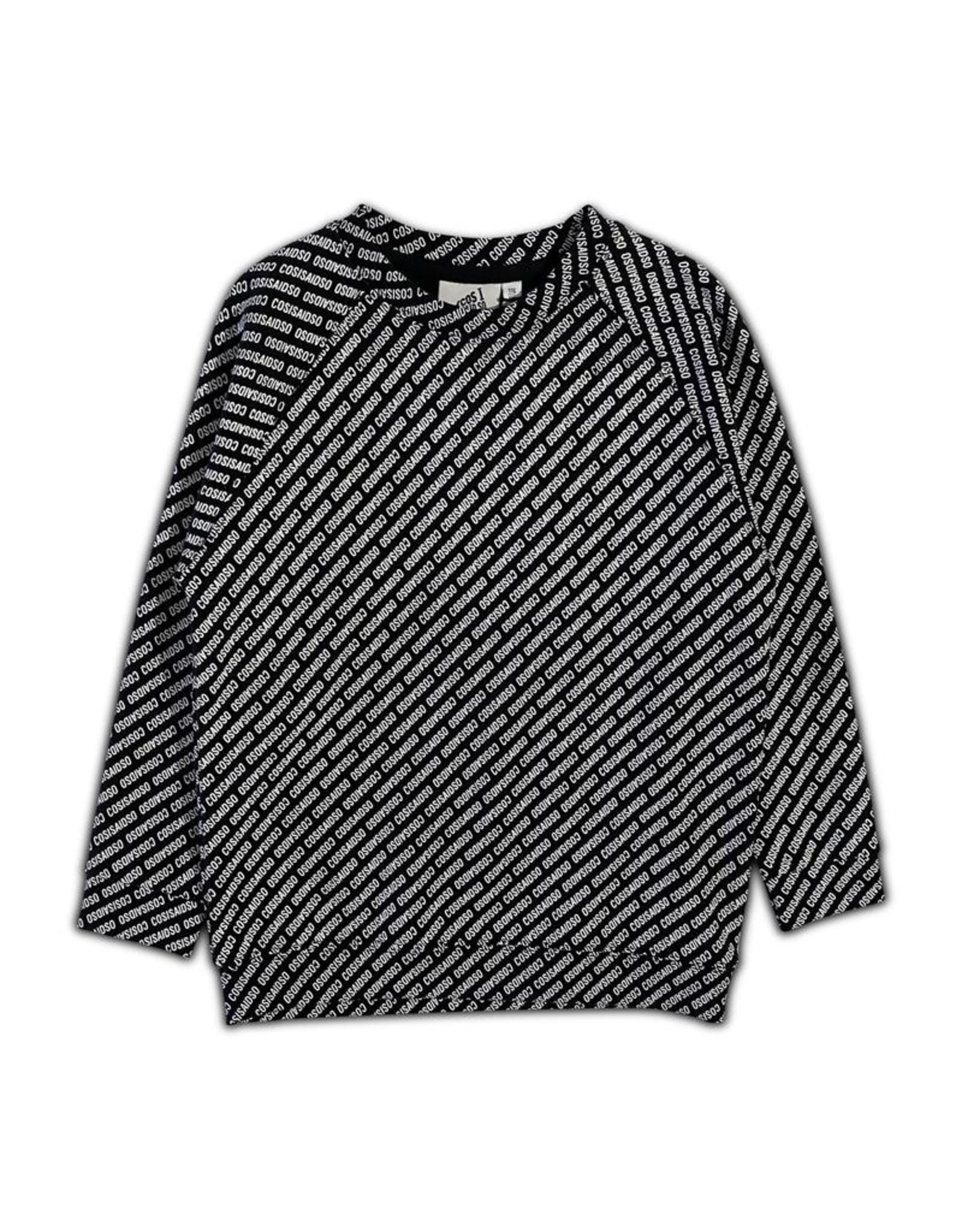 Cos I Said So Cos I Said So Sweater Logo BLACK