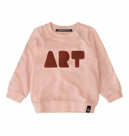 Your Wishes Your Wishes Art Sweater Soft Pink