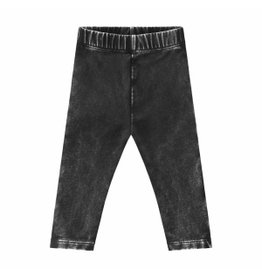 Your Wishes Your Wishes Stonewash Legging Charcoal