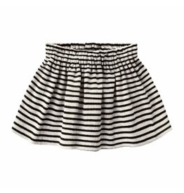 Your Wishes Your Wishes Beige Stripes Skirt Chalk