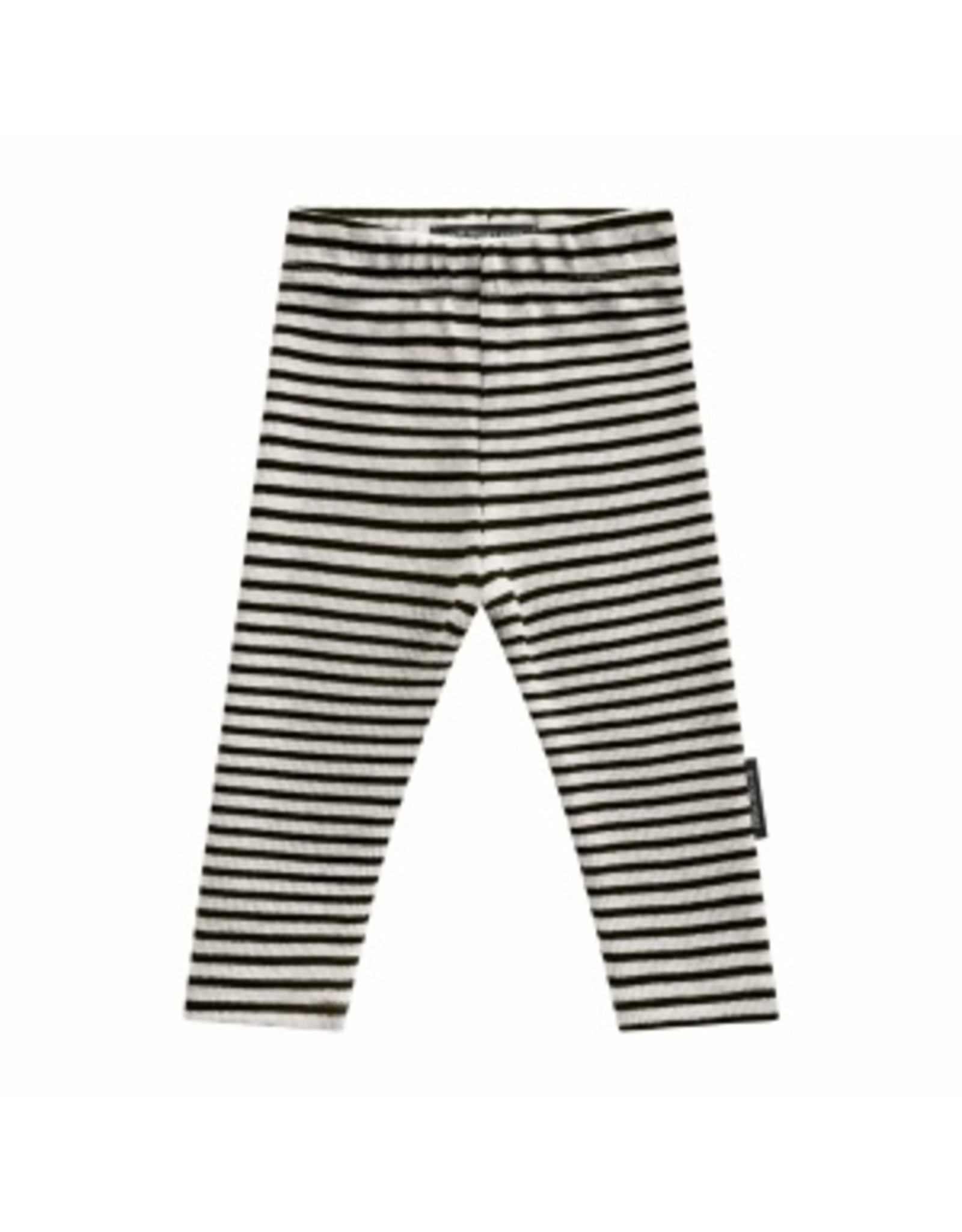 Your Wishes Your Wishes Beige Stripes Legging Chalk
