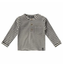 Your Wishes Your Wishes Beige Stripes Grandpa Longsleeve Chalk