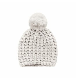 Your Wishes Your Wishes Knit Pompom Hat Chalk