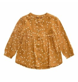 Your Wishes Your Wishes Confetti Blouse Top Gold