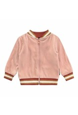 Your Wishes Your Wishes Rib College Bomber Old Pink