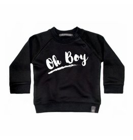 Your Wishes Your Wishes Oh Boy Sweater Black